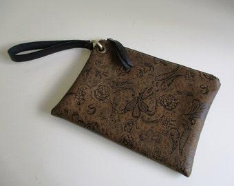 Brown Handbag / clutch / Pouch / Pocket