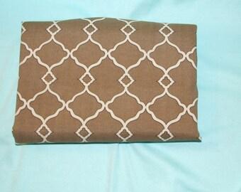 Vintage Fabric Destash Williamsburg Fabric Chippendale Fretwork