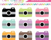 Camera Clip Art Clipart Photography Graphics for Personal & Commercial Use Instant Download