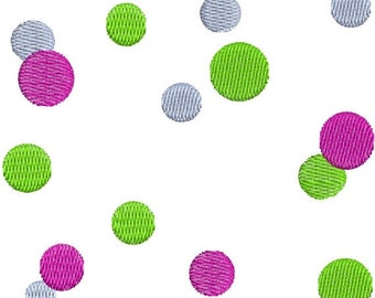 SALE 65% off Polka Dot polkadots Frame Machine Embroidery Designs Instant Download