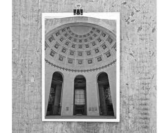 OHIO Stadium- 8 x 12  photograph - OSU Ohio State Go Bucks Buckeyes Scarlet and Gray