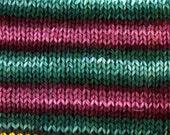 Turnip the Beet! - GRADIENT Self Striping - Hand Dyed Merino and Nylon Sock Yarn - Entree