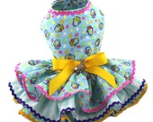 Easter Baskets and Eggs dog dresses