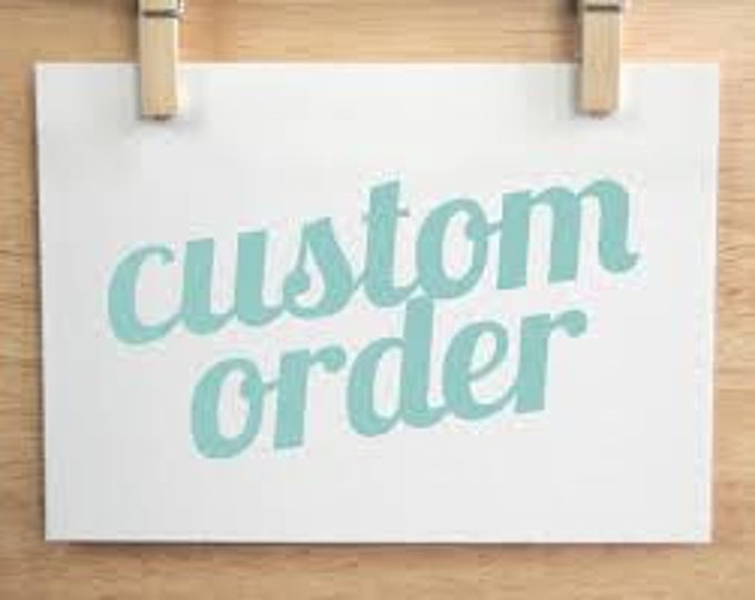 RUSH FEE for order 30 days or less