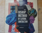 Bishop Method of Clothing Construction, 1959 Vintage Sewing Instruction Book Edna Bishop