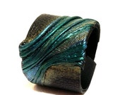 50% OFF SALE Elegant fashion leather bracelet Cuff Leather jewelry Wide fashion wristband leather jewelry