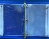 10 Clear Vinyl Zippered Pouches. Fit in a Standard 3-Ring Binder.Organize your felt board sets