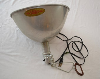Vintage Smith VICTOR photographic lamp shade 1940s 50s USA industrial design
