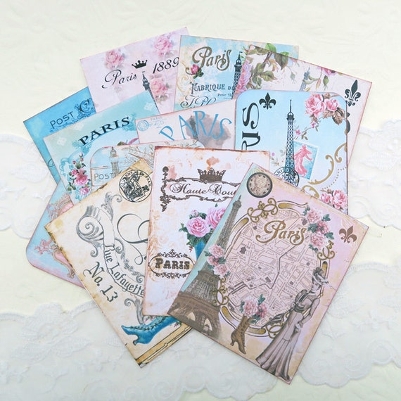 Scrapbook set embellishment destash paris eiffel tower - Boutique scrapbooking paris ...