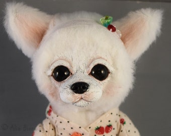 Poppy the Chihuahua - Whiteleaf Village Jointed Art Doll