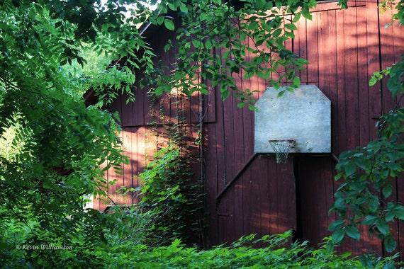Hoosier Hoops—Photo Print or Canvas Gallery Wrap