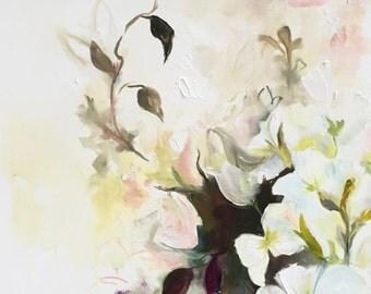 Blush Flower Study II