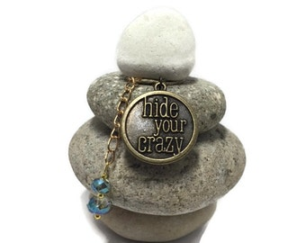 Hide your Crazy Rock Cairn, Special, Rare, Different, One and only, Inexpensive Small Gift, One of a Kind, Unusual, Desk Gift, Secret Santa