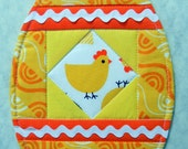 Egg-cellent Mug Rug - Happy Spring - Easter Basket - Brunch - Breakfast - Farm Fresh Eggs!