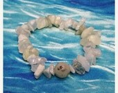 ON SALE Gemstone Bracelet, Serpentine Bracelet, Aquamarine Bracelet, Moonstone Bracelet, Sesame Jasper Bracelet,