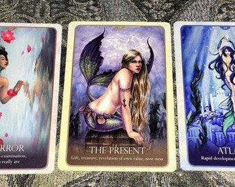 Oracle Reading - Three Card Reading - Tarot - Oracle - Tarot Reading - Email Reading - Oracle Card - Intuitive Reading - Divination