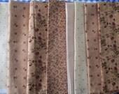 Tan Plum Sweet Fabric Bundle - Moda - Blackbird Designs
