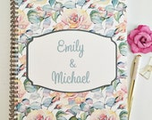 Personalized Wedding Planner, Custom wedding planner, new cover options, bridal planner, wedding planning book