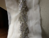 "18"" RhinestoneTrim for Straps, Bridal Sashes, Flapper Headbands, Jewelry or Costume Design"