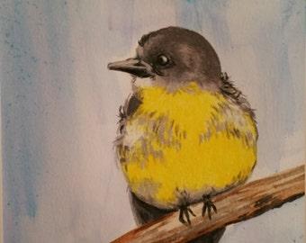 Original Watercolor & Prismacolor painting