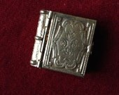 Antique religious Book Locket from France