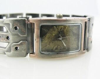 Men's Watch Antique green Dial