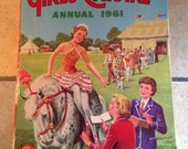1961 Girls' Crystal Annual Cartoon Book