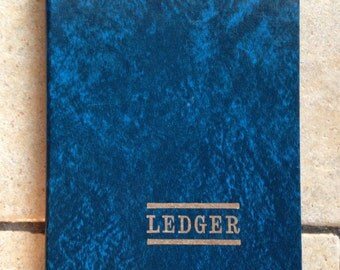Blank Ledger Account Book by Mead