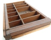 miniature wooden printer tray 8