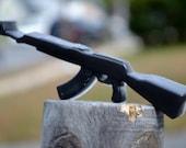 Gun Soap - AK47 Gun - Walking Dead Soap - Novelty Soap - Gift for Him