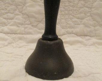 Vintage school Bell wood handle