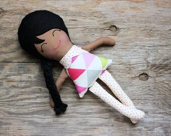 Lexi - Soft Doll - Rag Doll - Cloth Doll