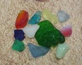 Sea Glass of Colors