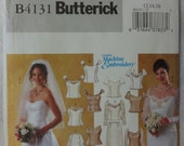 Butterick 4131 Sewing Pattern Bridal Top, Skirt, Wedding Top, Skirt, Bridal Party Outfit, Size 12, 14, 16  UNCUT