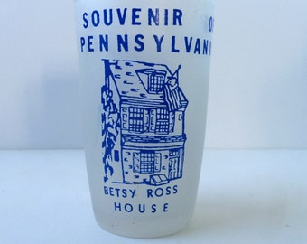 Novelty Shot Glass, Pennsylvania Souvenir Glass