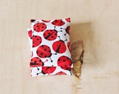 Ladybug Decor Lavender Bags, Scented Drawer Sachets, Gift for Daughter from Mom