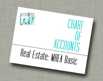 Chart of Accounts: Real Estate - MREA (Basic version)