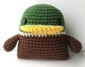 Crocheted duck Etsy