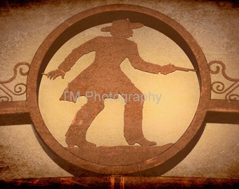Boot Hill - Sign - Dodge City - Kansas - Historic - Cowboy - Signage - Sign - Cemetery - Fine Art Photography