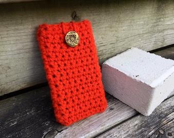 Pumpkin Patch Crochet Gadget Cozy
