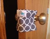 Door Latch Cover | Door Jam | Door Quieter | No More Slamming Doors