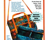 Executive Carryalls Pattern by Annie