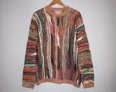 Genuine COOGI Australia Sweater size XL Mercerised Cotton, Mens Coogi Multicolor Bright Muted, 12 Different Colors Medium Weight