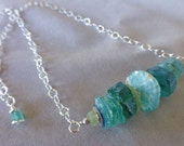 Ancient Roman Glass Stacked Necklace