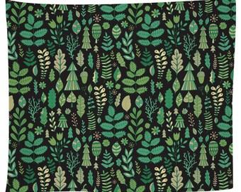 Tiny Trees Tapestry