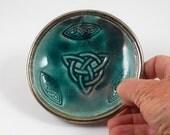 Goddess Pottery Triquetra Handmade Ceramics Decorative bowl