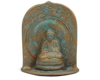 Buddha Shrine Patina Pottery