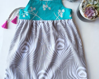 Girl's Dress - Toddler Dress - Little Girl Dress - Children's Clothing -Handmade Boutique Style - Minimalist Dress - Summer Dress