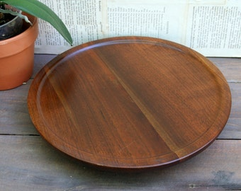 Solid Walnut Lazy Susan / Made In The Ozarks