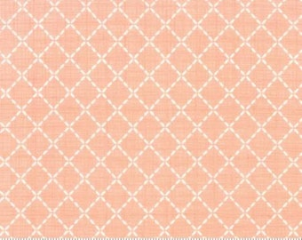 Lullaby Quilted Peach by Kate & Birdie for Moda - 13155 14